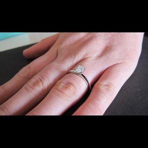 c4e1e474c Tiffany & Co. Jewelry | Tiffany Co Diamond Engagement Ring | Poshmark